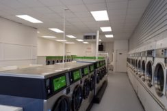 Park Avenue Laundromat Interior
