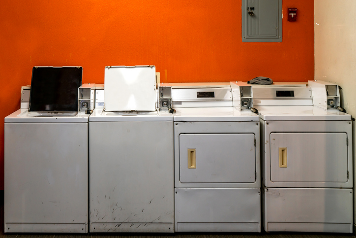 old washers and dryers