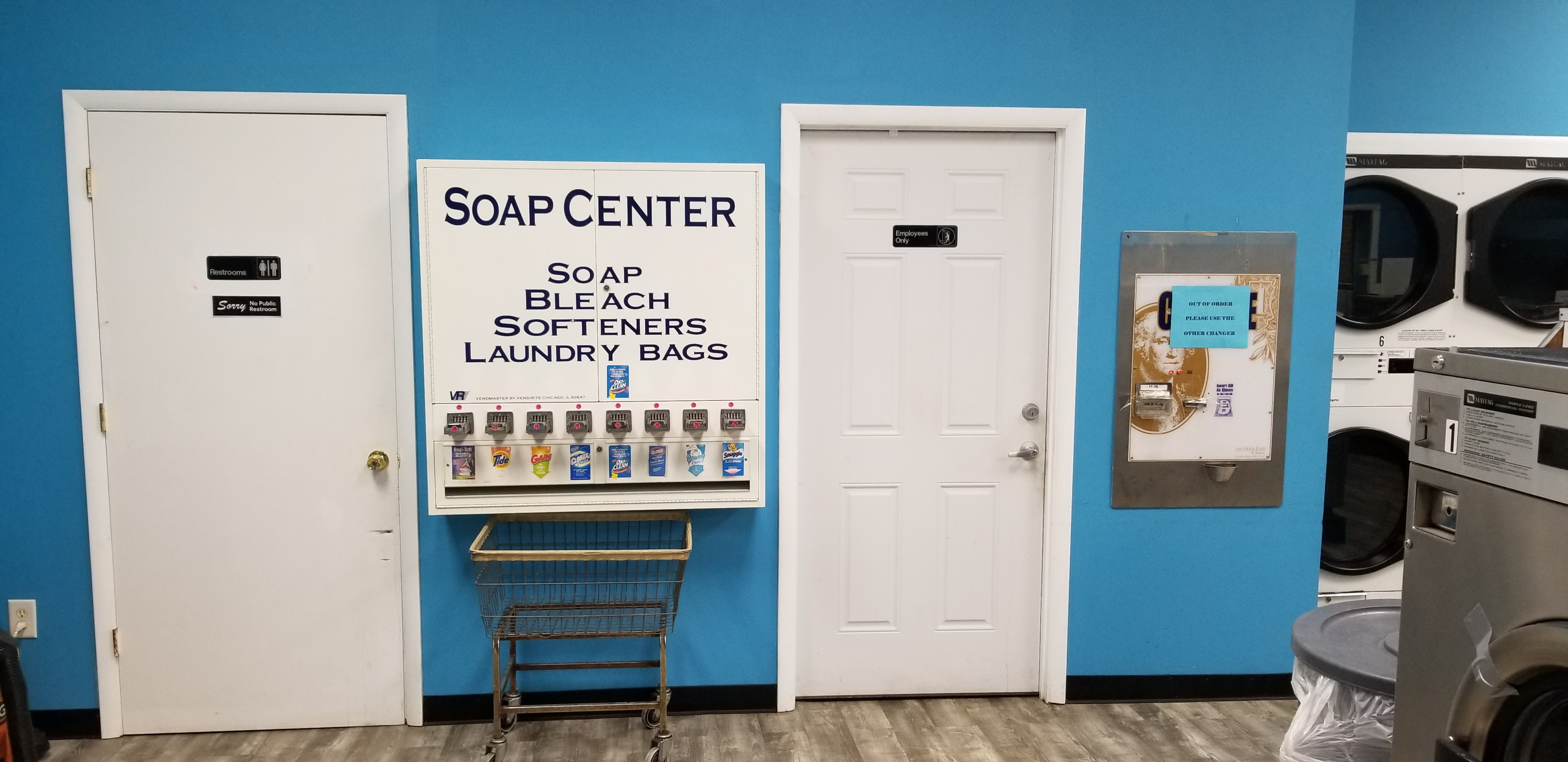 Soak and Fold – Rosedale, MD – Laundromats For Sale